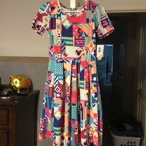 Lularoe Amelia dress DISNEY